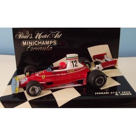 Ferrari F1 312T Niki Lauda World Champion 1975