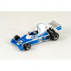 Ligier JS05 Jacques Laffite 4ème au GP de Long Beach 1976