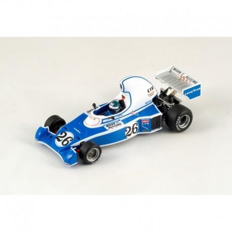 Ligier JS05 Jacques Laffite 4th 1976 Long Beach GP