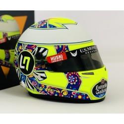 Mini casque 1/2 Lando Norris 2019 GP du Mexique
