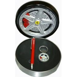 Ferrari GT ballpoint pen & keychain