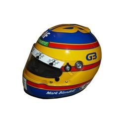 1993 Mark BLUNDELL / LIGIER helmet