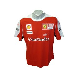 2010 FERRARI Team T-Shirt