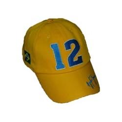 casquette Ayrton SENNA Champion No 12 jaune
