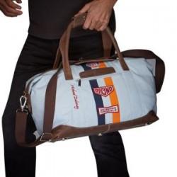 Gulf M. Delaney travelbag Medium, canvas and genuine leather