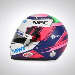 2019 Sergio Perez half scale mini helmet