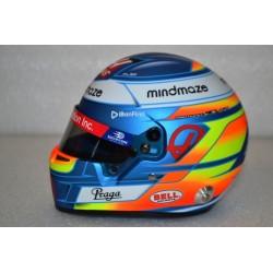 Mini casque 1/2 Romain Grosjean 2020