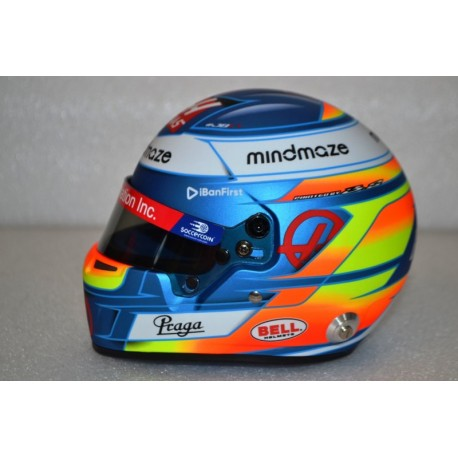 2020 Romain Grosjean half scale mini helmet