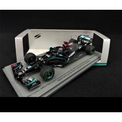 Mercedes F1 W11 Lewis Hamilton, vainqueur du GP de Turquie 2020