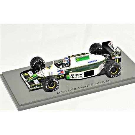 Lotus 102B Mika Häkkinen Australian GP 1991