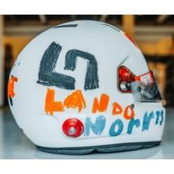 2020 Lando Norris 1/5 scale mini helmet