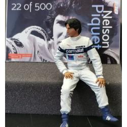Nelson Piquet Brabham figurine