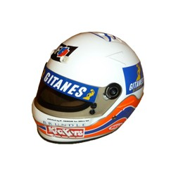 1995 Martin BRUNDLE / LIGIER F1 helmet