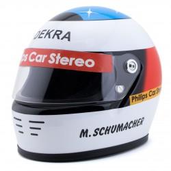 Mini casque échelle 1/2 Michael Schumacher premier GP de F1 1991