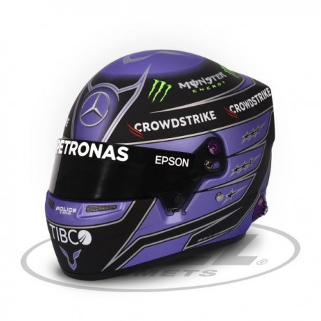 2021 Lewis Hamilton 1/2 scale mini helmet