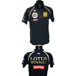 "Polo ""Dry Fit"" Race Team Lotus hommes"