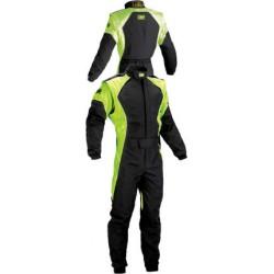 KS-3 Karting suit,  black/fluorescent green