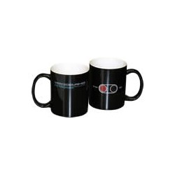 MERCEDES AMG F1 Pit lane colour changing mug