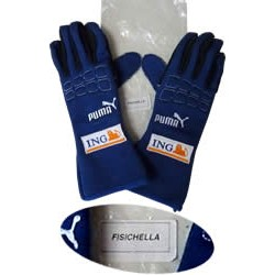 2007 Giancarlo FISICHELLA / RENAULT F1 gloves