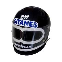 "Jacky ICKX ""double eye"" replica helmet"