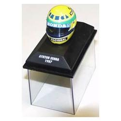 1987 Ayrton Senna / Camel Lotus  1/8 helmet