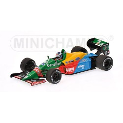 Benetton Ford B188 M.Häkkinen first F1 Test