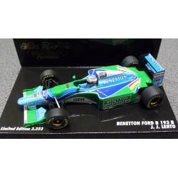 Benetton Ford B193B  J.J.Lehto