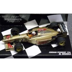 Jordan Peugeot 196 Martin Brundle  1996