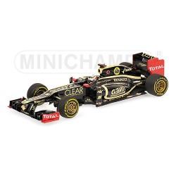 Lotus-Renault E20 Kimi Räikkönen 2012
