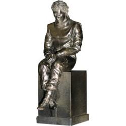 Figurine Ayrton SENNA - Réplique de la statue montée sur le circuit d'Imola