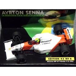 McLaren MP4/7 Honda V12 A.Senna 1992  (nr. 6)