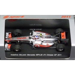 McLaren Mercedes MP4-26 J.Button China GP 2011