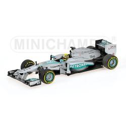 Mercedes AMG W04 Nico Rosberg 2013