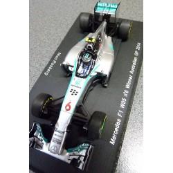 Mercedes F1 W05 N.Rosberg Vainqueur GP d'Australie 2014