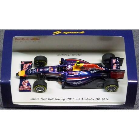 2014 Red Bull Racing RB10 D.Ricciardo