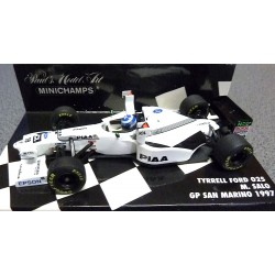 Tyrrell Ford 025 Tower Wings Mika Salo 1997