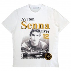 T-Shirt Ayrton Senna 1st Victory 1985