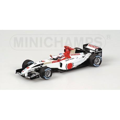 BAR-Honda 006 1st Pole Position Jenson Button