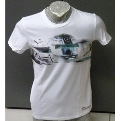 "T-Shirt Mercedes AMG Hamilton ""Drivers Tee"""