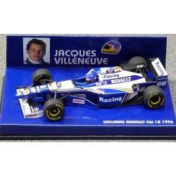 Williams Renault FW18 J.Villeneuve 1996