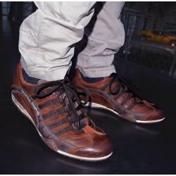 GPO Sneaker en coloris cognac
