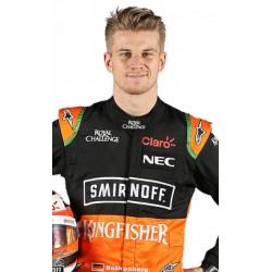 Combinaison dédicacée Nico Hülkenberg/Force India 2015