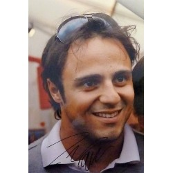 Photo A4 dédicacée Felipe Massa