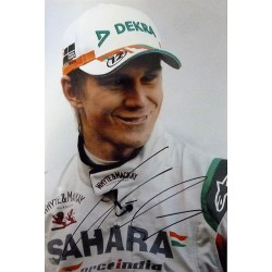 signed A4 Nico Hülkenberg photo