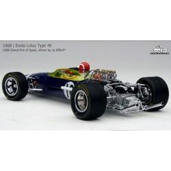 Lotus 49 Jo Siffert GP d'Espagne 1968