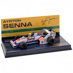 Toleman Hart TG183B Ayrton Senna GP du Brésil 1984