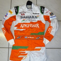 Combinaison originale Paul Di Resta / Force India 2012