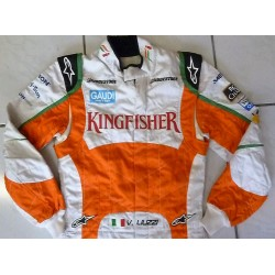 Combinaison originale Vitantonio Liuzzi / Force India 2010