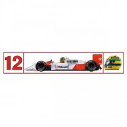 Ayrton Senna sticker McLaren