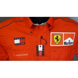 Luca Badoer personnal Ferrari Team shirt with Marlboro